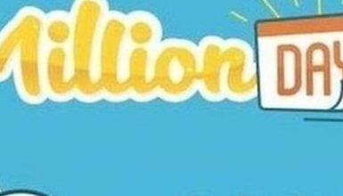 Million day 20 maggio estrazione di oggi, i numeri vincenti