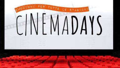 CinemaDays: l'iniziativa che ti permette di andare al cinema a soli 3 euro