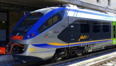 Campania, la consegna di Trenitalia del 16esimo treno Jazz