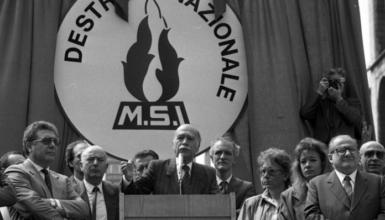 22 maggio 1988, muore lo storico segretario dell'MSI Giorgio Almirante
