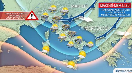 Meteo-Italia-caldo-temporali