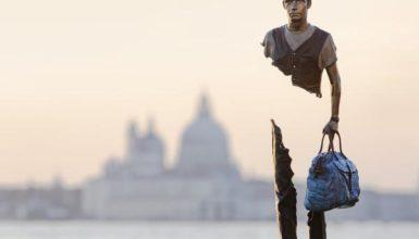 Sculture in viaggio: a Venezia la mostra diffusa di Bruno Catalano