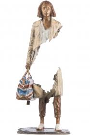 Bruno-Catalano-Margot-scultura-bronzo