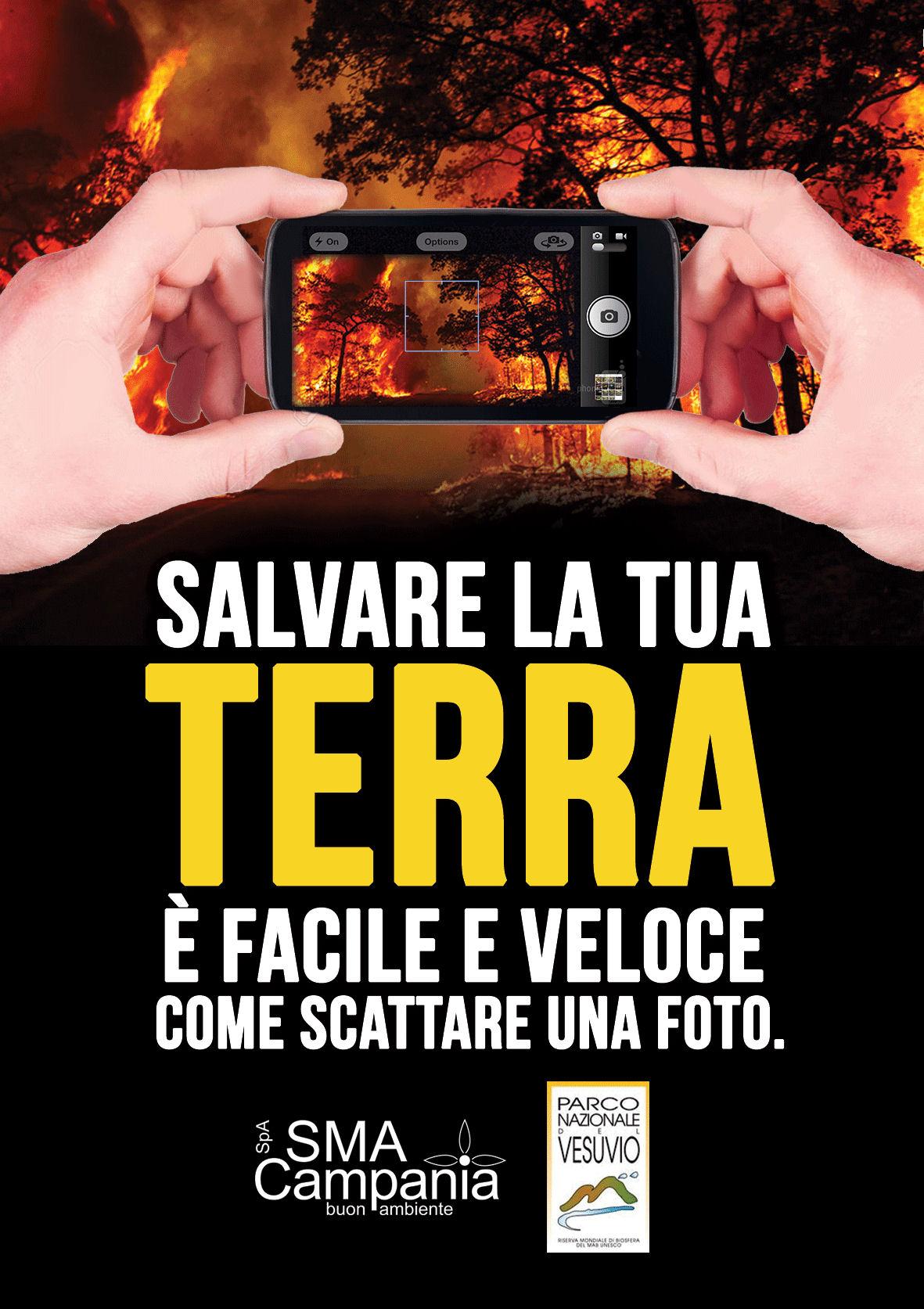 Photo of Incendi in Campania, ecco l'app che ti permette di segnalare un'emergenza con una foto