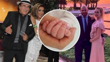 Al Bano e Romina di nuovo nonni: Cristel Carrisi ha dato alla luce una bimba