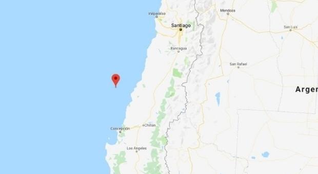 Photo of Terremoto in Cile, fortissima scossa di 6.8: epicentro in mare