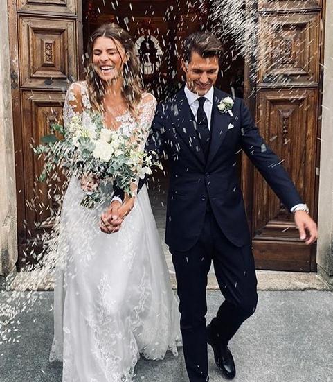 Photo of Cristina Chiabotto ha detto sì, il matrimonio dopo il fidanzamento lampo con Marco Roscio