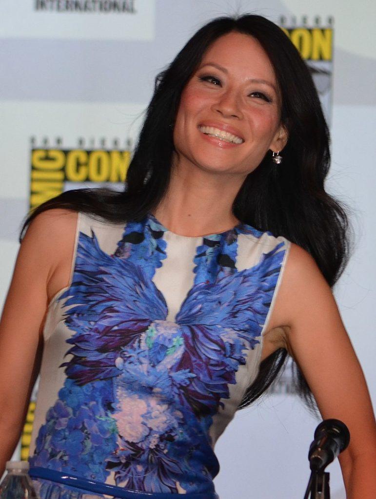 Lucy Liu al San Diego Comic-Con del 2012