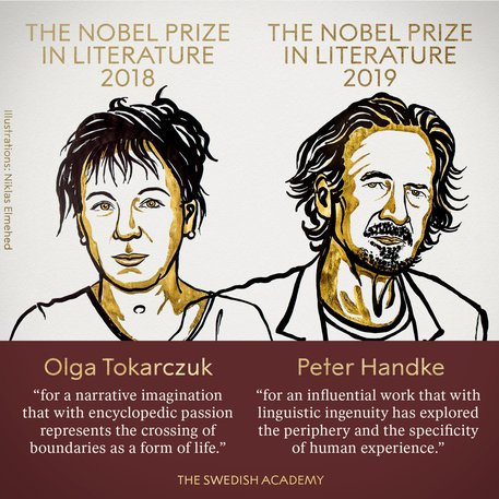 Nobel-letteratura-2019-tokraczuk-handke
