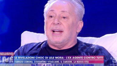"""Lele Mora ospite a """"Non è la D'Urso"""": """"In carcere ho visto Padre Pio"""""""