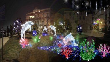 Taranto, Natale come a Salerno: ecco le luminarie artistiche