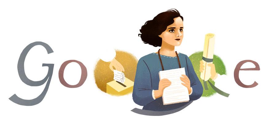 doodle-oggi-matilde-hidalgo-de-procel-google-21-novembre-2019