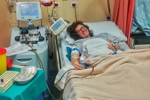 """Photo of Dona il midollo al padre malato: """"Mi ha dato la vita, la ridarò a lui"""""""
