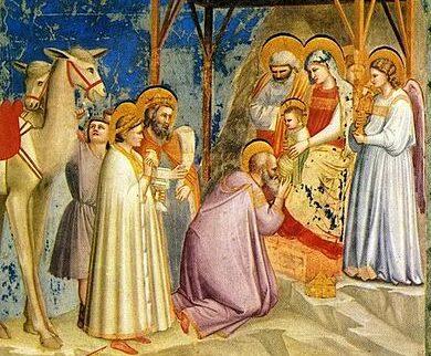 Giotto-Adorazione-dei-Magi