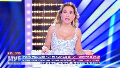 Barbara D'Urso, gaffe in diretta: scambia l'influencer Chiara Nasti per Chiara Biasi