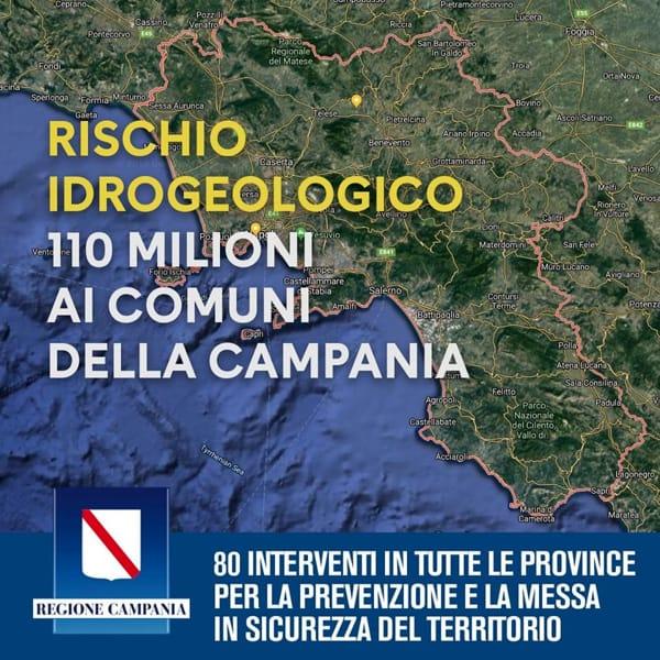 Photo of Campania, approvato il nuovo Piano di finanziamento della Regione: 110 milioni ai comuni