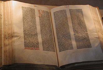 Johann Gutenberg Bibbia