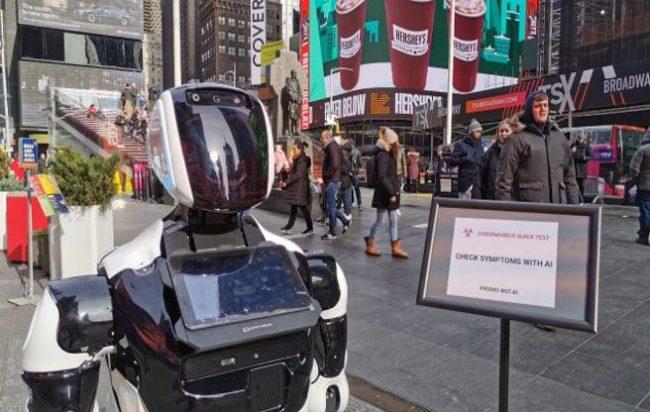 coronavirus-new-york-robot