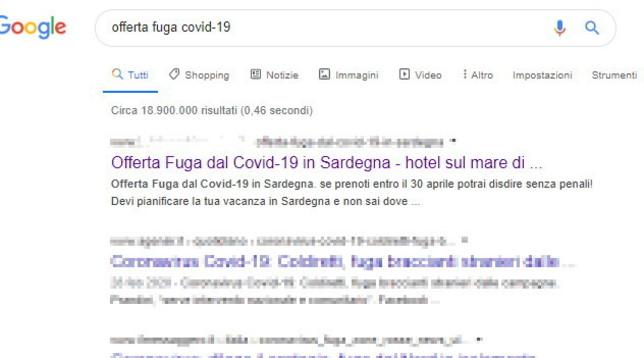 nuoro-hotel-pubblicizza-fuga-coronavirus-denuncia