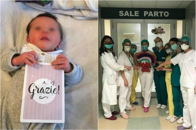 """Photo of Coronavirus, la piccola Elisa venuta al mondo durante l'emergenza: """"Aveva fretta di nascere"""""""