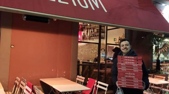 Photo of Coronavirus, gara di solidarietà a Milano: pizzaiolo dona le pizze agli infermieri