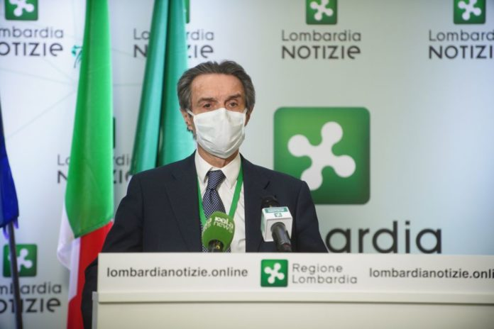 "Photo of Coronavirus in Lombardia, Attilio Fontana: ""Trend positivo"""