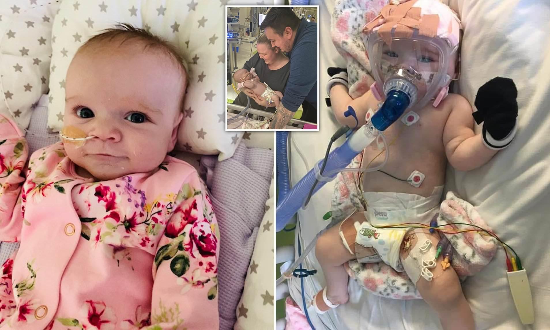 Photo of Operata al cuore e colpita dal Covid a 6 mesi, la piccola Erin sconfigge anche il coronavirus