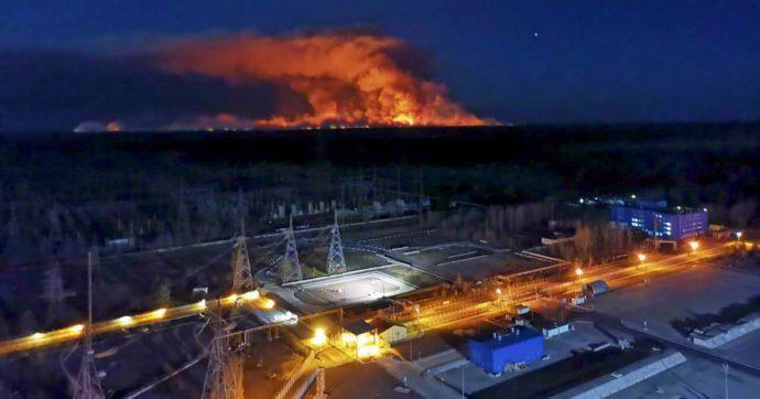radiazioni-Chernobyl-italia-kievi-incendi