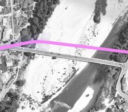 crollo ponte provvisorio