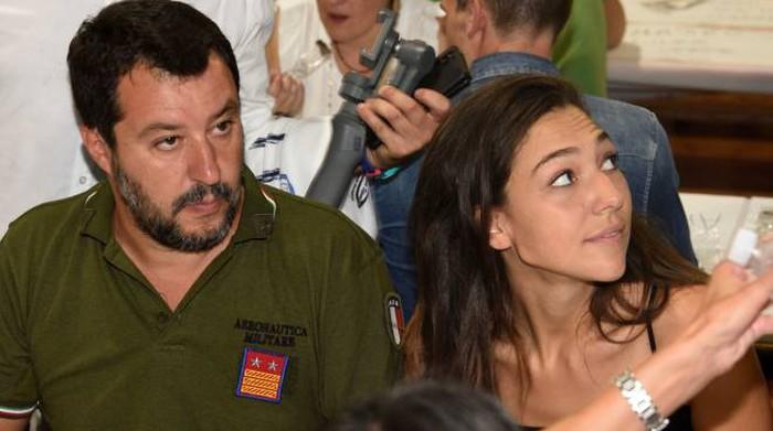 Aggredita a Roma Francesca Verdini, fidanzata di Matteo Salvini