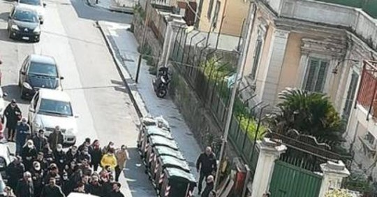 Photo of Messina, corteo funebre per il fratello dell'ex boss in piena emergenza coronavirus