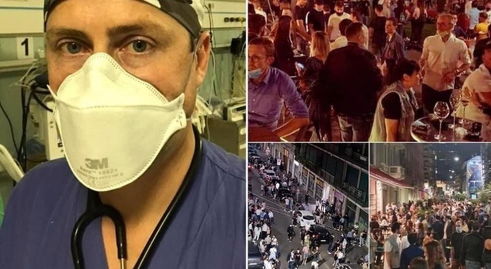 """Photo of """"Non curiamo gli imbecilli che fanno l'aperitivo"""": i medici contro la movida giovanile, ma forse dimenticano qualcosa"""