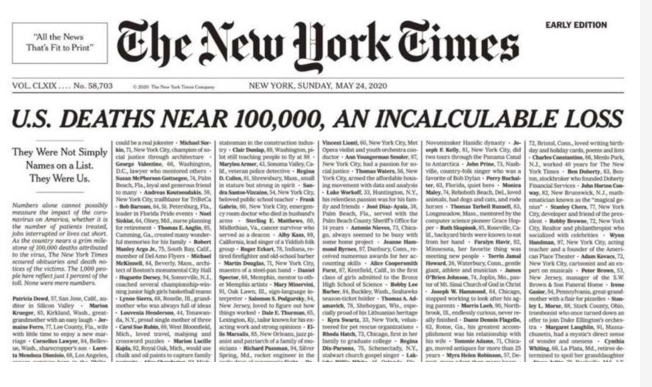coronavirus-new-york-times-nomi-vittime-prima-pagina