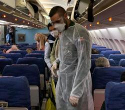 aereo-mascherine-distanziamento-regole