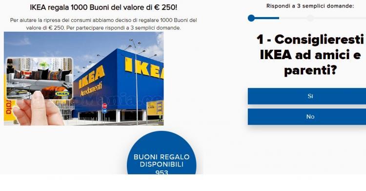 truffa-buono-regalo-ikea-250-euro