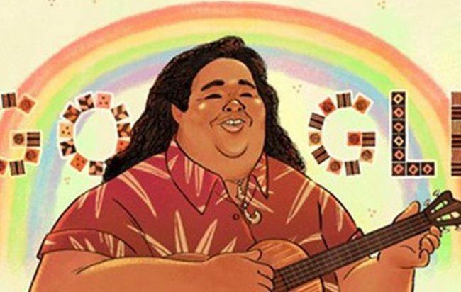 doodle-google-oggi-israel-Kaano-i-Kamakawiwo-ole