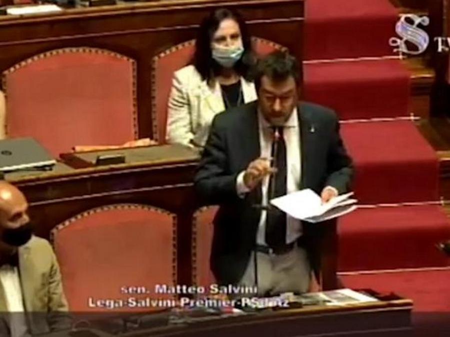 """Photo of Lapsus di Salvini: """"Porti aperti hanno salvato vite, porti chiusi condannano a morte"""""""