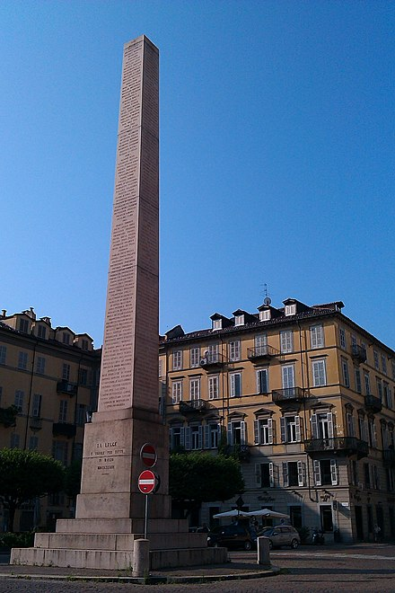 Turin_Obelisc_of_Savoia_square