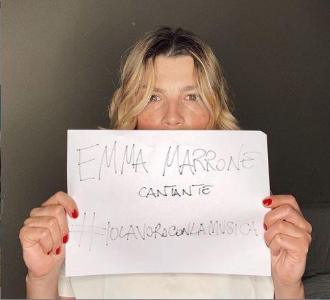 Photo of Emma Marrone aderisce alla protesta virtuale lanciata dai lavoratori del mondo dello spettacolo