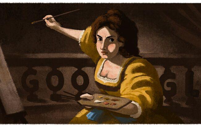 Google celebra Artemisia Gentileschi - Lazio