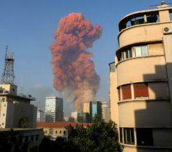 Libano-beirut-porto-due-potenti-esplosioni-