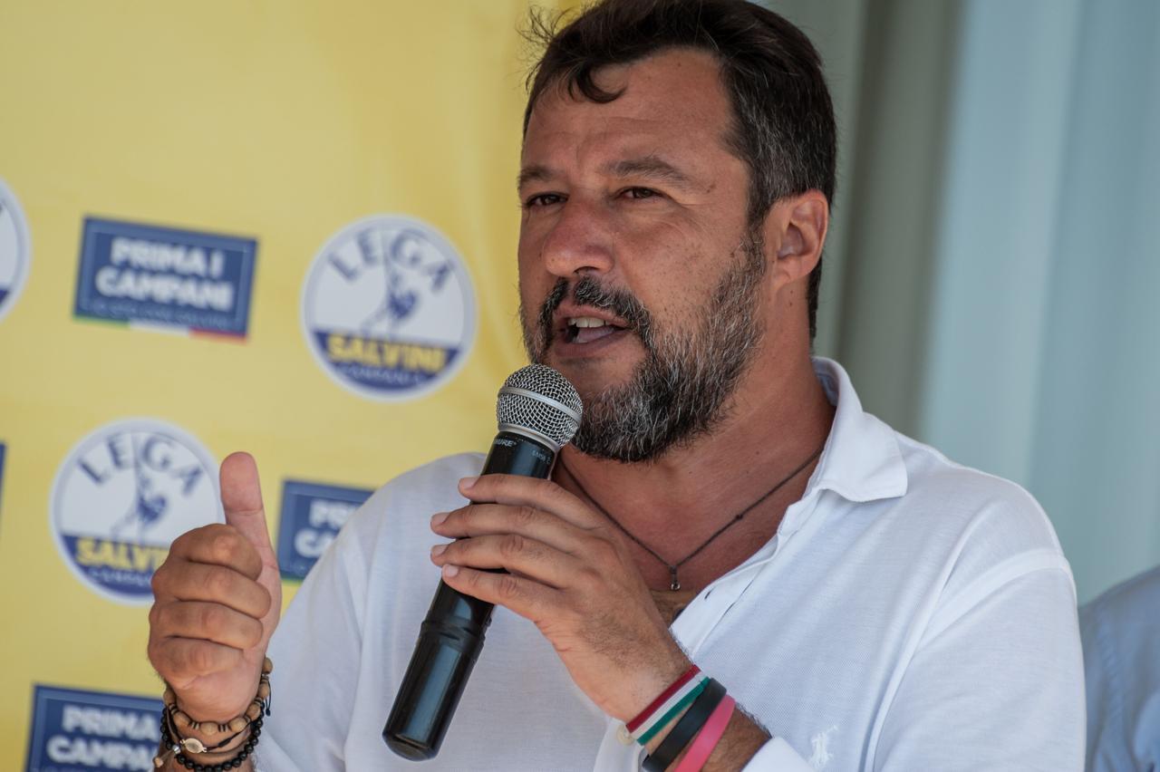 """Photo of Arrestati tre commercialisti vicini alla Lega, Salvini: """"Ne conosco due, mi fido di loro"""""""