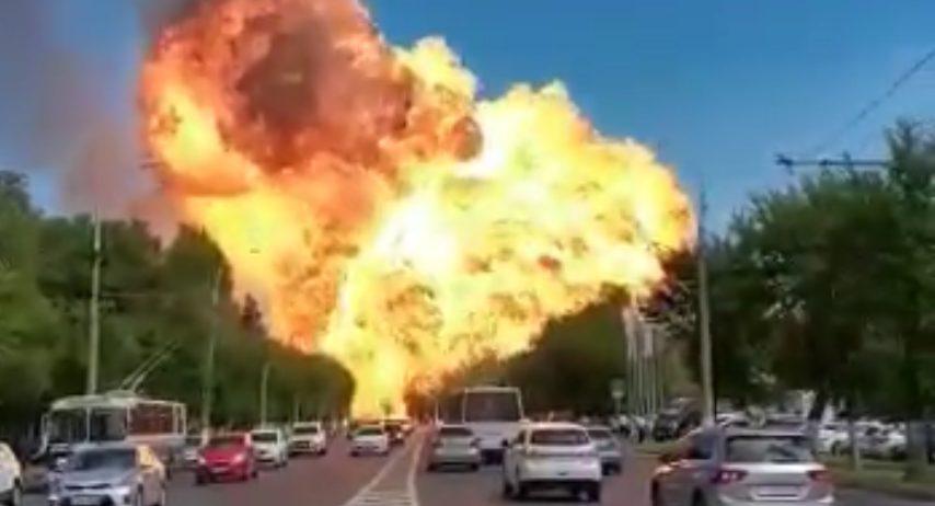 Photo of Russia, esplode un deposito di benzina a Volgograd: ci sono diversi feriti