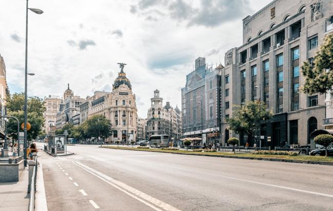 Spagna - Emergenza Coronavirus, lockdown parziale in tutta la città di Madrid