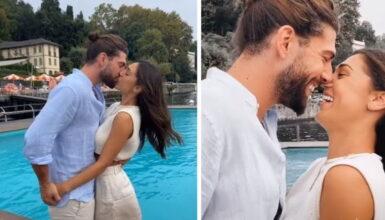 Cecilia Rodriguez e Ignazio Moser, la crisi è superata: il bacio infuocato non lascia dubbi