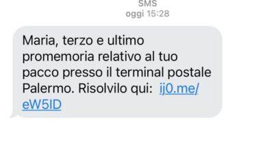 """Photo of Attenzione alla truffa del """"pacco Amazon"""": se vi arriva questo messaggio non rispondete"""