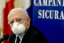 Photo of Covid in Campania, oggi la diretta di De Luca sui contagi