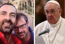 """Photo of Andrea, padre gay, chiese aiuto al Papa per i suoi tre figli e Francesco gli rispose: """"Andrà tutto bene"""""""