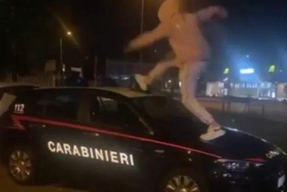 Trapper auto carabinieri