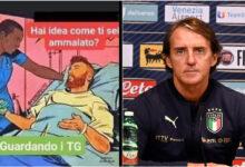 """Photo of Covid, bufera sulla vignetta di Mancini: """"Mi sono ammalato guardando i tg"""""""